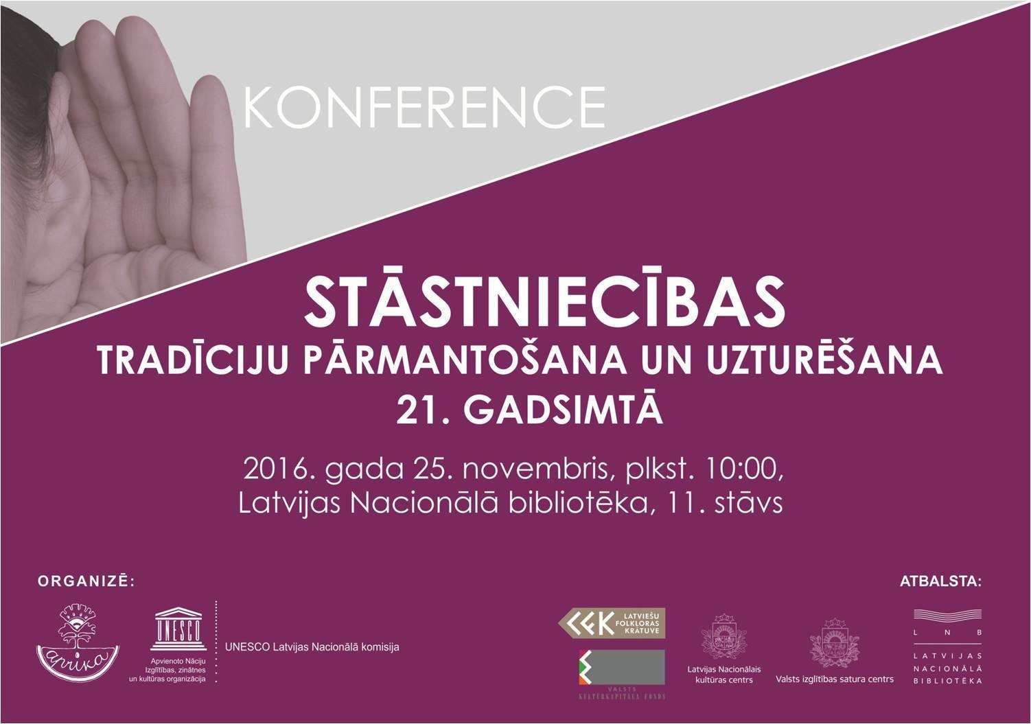 Stāstnieku konference 2016